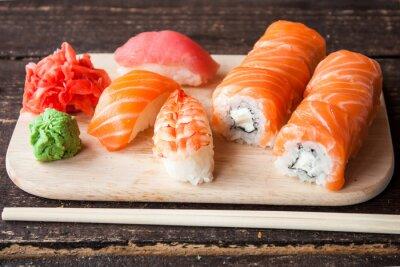 Obraz Japońskie sushi set