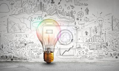 Obraz Jasny pomysł na rozwój firmy