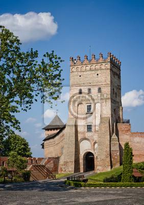 Jeden z najbardziej znanych zamków na Ukrainie - Łuck Castle (Zamek Lubarta)