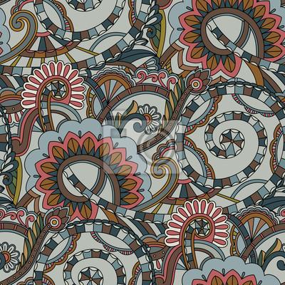 Jednolite tło wzór. Paisley tekstylny
