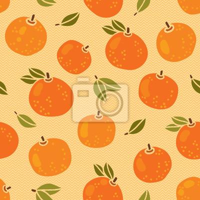 Jednolite wzór z pomarańczami