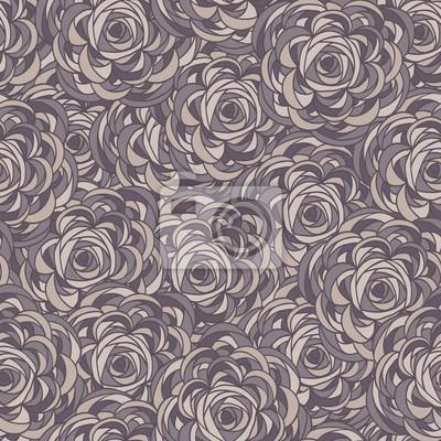Jednolite wzór z róż. Floral tle