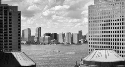 Jersey City seen from Manhattan, US.