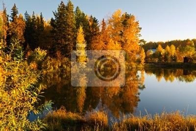 jesień krajobraz.