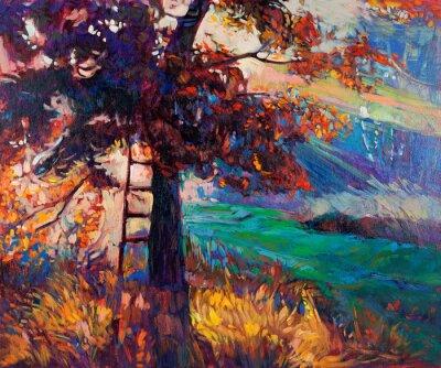 Obraz Jesień w lesie