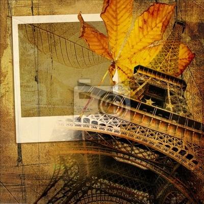 jesienią w Paryżu
