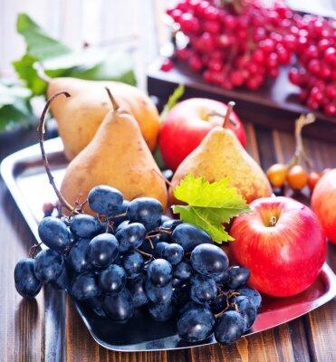 Obraz jesienne owoce