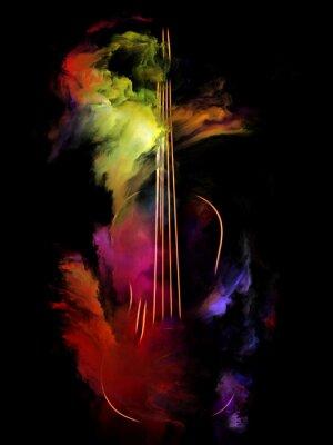 Obraz Jeśli Music Had Colors