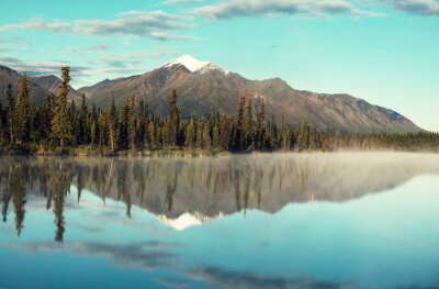 Obraz Jezioro na Alasce
