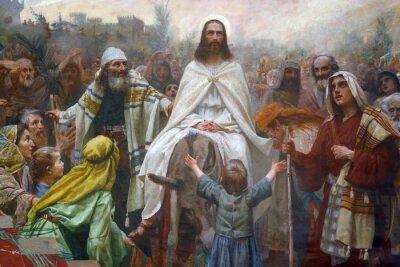Obraz Jezus w Niedzielę Palmową