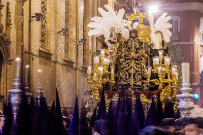 """Jezus wyroku jest znanym procesji w Wielki Piątek (wczesne godziny) w Sewilli. Należy do bractwa religijne """"Macarena"""", najbardziej popularne w Sewilli"""