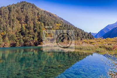 Jiuzhaigou Valley Scenic i historycznych Powierzchnia Odsetki