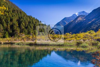 Jiuzhaigou Valley Scenic i historycznych Powierzchnia Odsetki, Syczuan