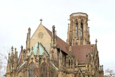 Obraz Johanneskirche am Feuersee Stuttgart