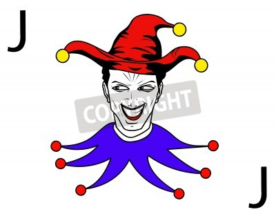 Obraz Joker Karty Gry Na Wymiar Rysunek Teatr Karta Redro Pl