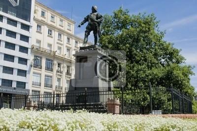 Juan de Garay Pomnik w Buenos Aires, Argentyna