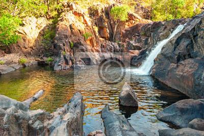 Kakadu National Park (Terytorium Północne, Australia) krajobraz niedaleko Gunlom poszukiwania