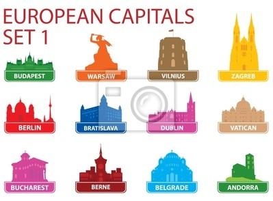 Kapitał symbole europejskie