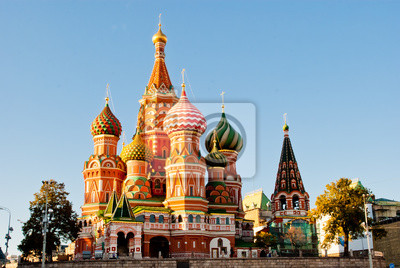 Katedra Świętego Bazylego, Red Square, Moscow