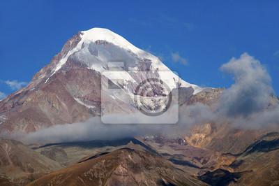 Kaukaski Szczyt Kazbek.
