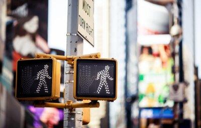 Obraz Keep walking znak drogowy w Nowym Jorku