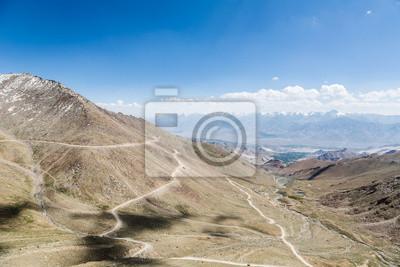 Khardung La przechodzą w Ladakh, Indie