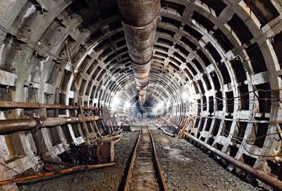 Kijów metra tunelu