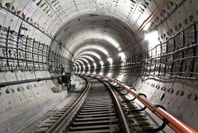 Kijów, tunel metra