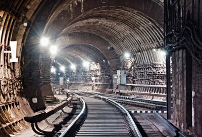 Obraz Kijów, tunel metra