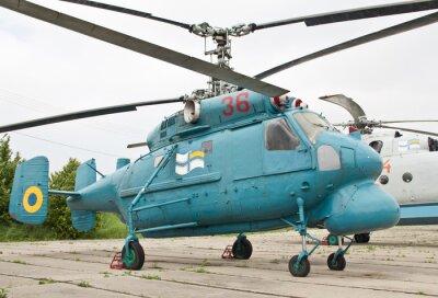 Obraz KIJÓW, Ukraina-16 maja: Ka-25 w Muzeum Lotnictwa Państwowego