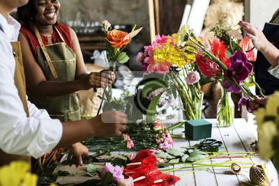 Obraz Klasa aranżacji kwiatów grupy