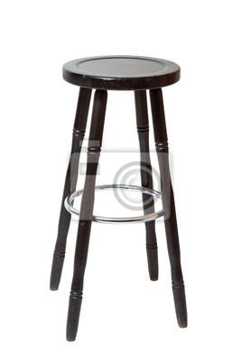 Klasyczne drewniane stołki barowe