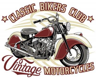 Obraz Klub klasycznych rowerzystów