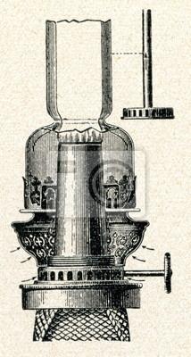 Knot Lampy Naftowej Rurowy Palnik Obrazy Redro