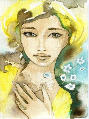 Obraz kobieta