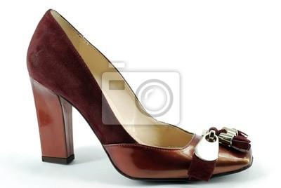 061d6ff9 Obraz kobieta czerwone buty na wymiar • czerwony, elegancja ...