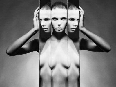 Obraz Kobieta i lustra