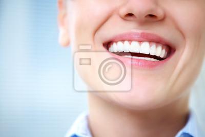 Obraz kobieta smile