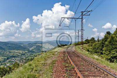 Kolej w Karpaty, Ukraina