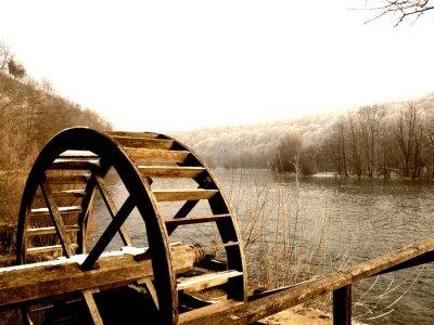 Obraz Koło Watermill
