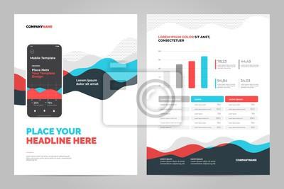 Kolorowe abstrakcyjne tło dla dokumentów biznesowych, ulotki i plakaty. Technologie mobilne, aplikacje i usługi online plansza koncepcja.