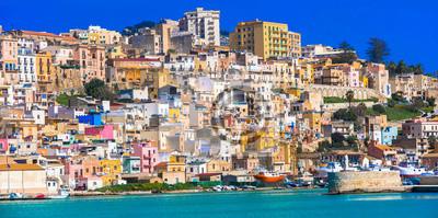 Kolorowe miasta Włoch - urocza Sciacca na Sycylii