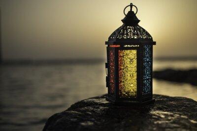 Obraz Kolorowe światło świec Lantern