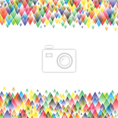Kolorowe tło z geometryczny wzór, ilustracji wektorowych
