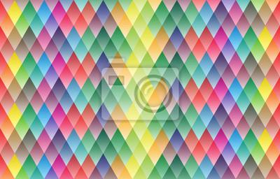 Kolorowe tło z geometryczny wzór wzór, ilustracji wektorowych