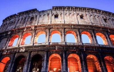 Obraz Koloseum w Rzymie, Rzym, Włochy