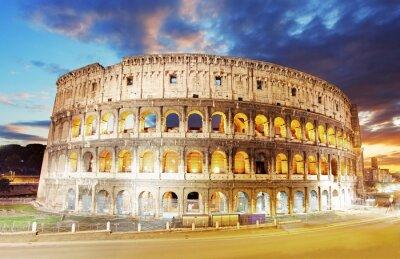 Obraz Koloseum w Rzymie, Włochy