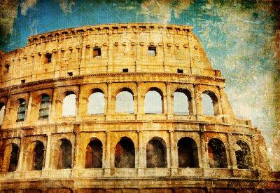 Koloseum - Wielki zabytków włoski serii