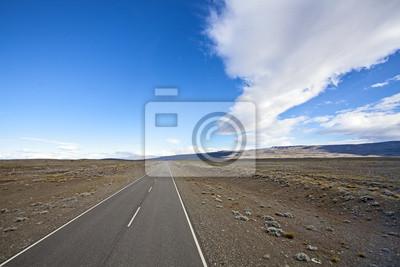 Obraz Kompletne szosa pusty kraj, Ruta 40.