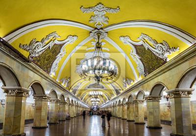 Komsomolskaja (Linia Kolcewaja) stacja moskiewskiego metra